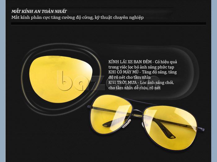 Kính nam Q&J A103  - phong cách