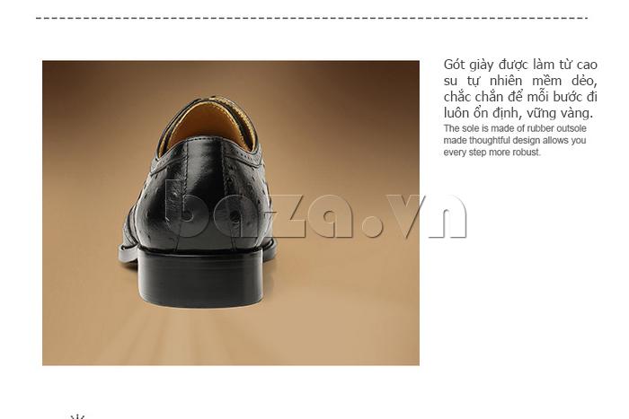 Giày da nam VANGOSEDUN VG78801 dùng chất liệu cao cấp