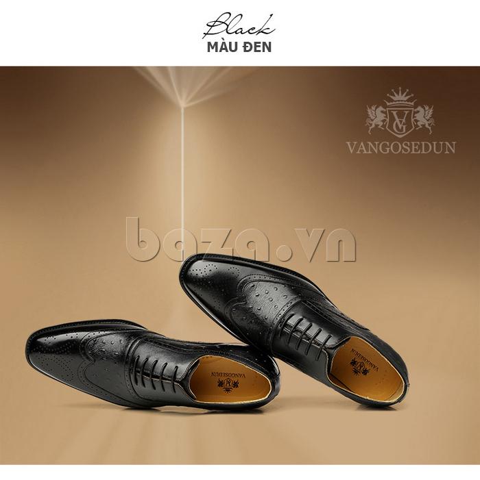 Giày da nam VANGOSEDUN VG78801 cao cấp