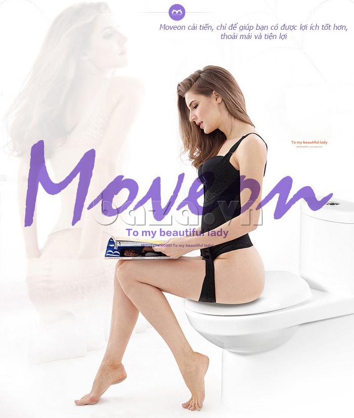 Áo định hình nữ liền thân tôn dáng Moveon cao cấp