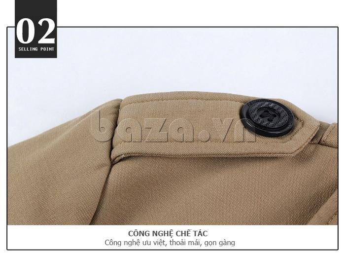 Áo khoác nam thu đông kiểu Hàn CTHAPINE 3562169 thoải mái