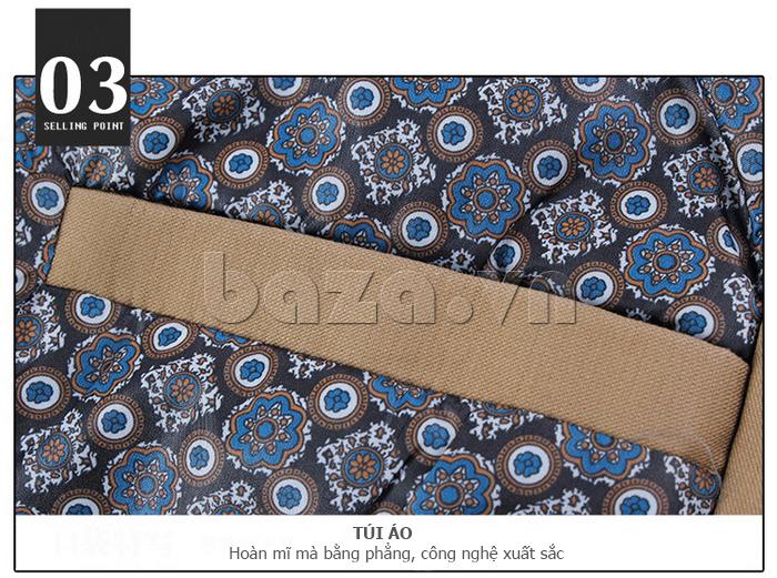 Áo khoác nam thu đông kiểu Hàn CTHAPINE 3562169 - túi áo hoàn mĩ