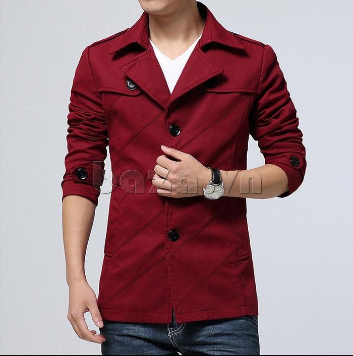 Áo jacket nam thu đông kiểu Hàn CTHAPINE 3562169