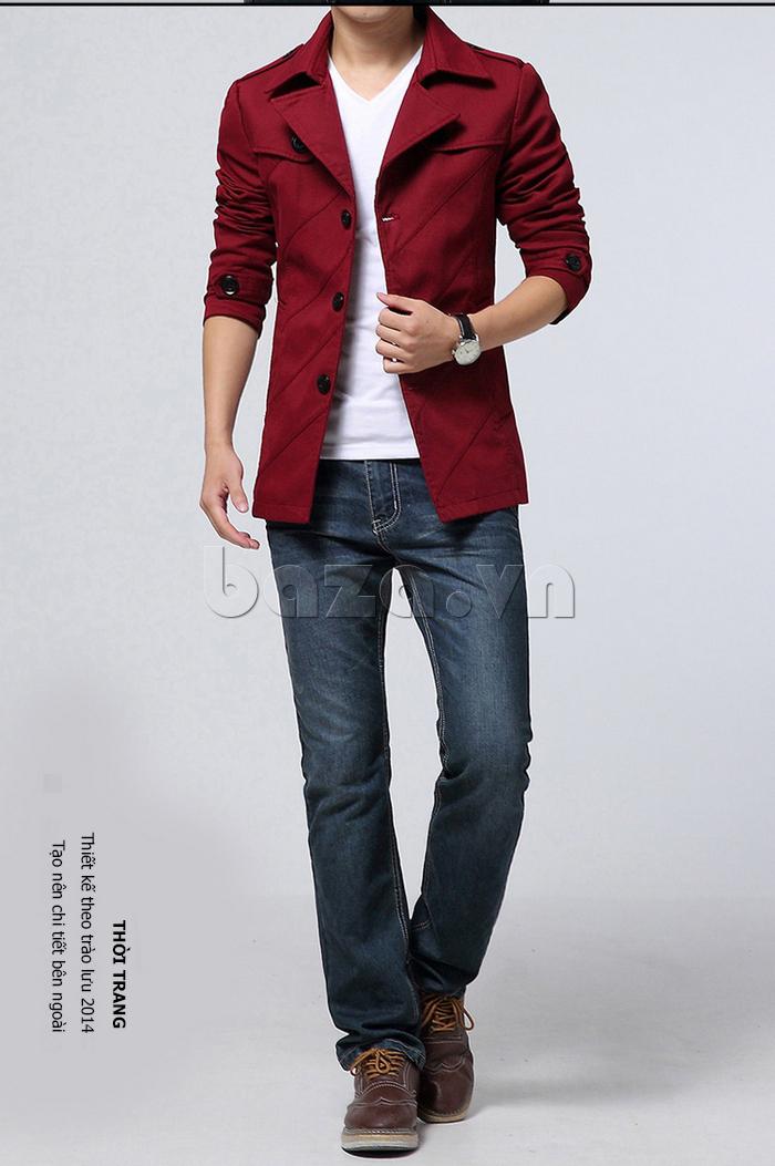 Áo khoác nam thu đông thời trang CTHAPINE 3562169