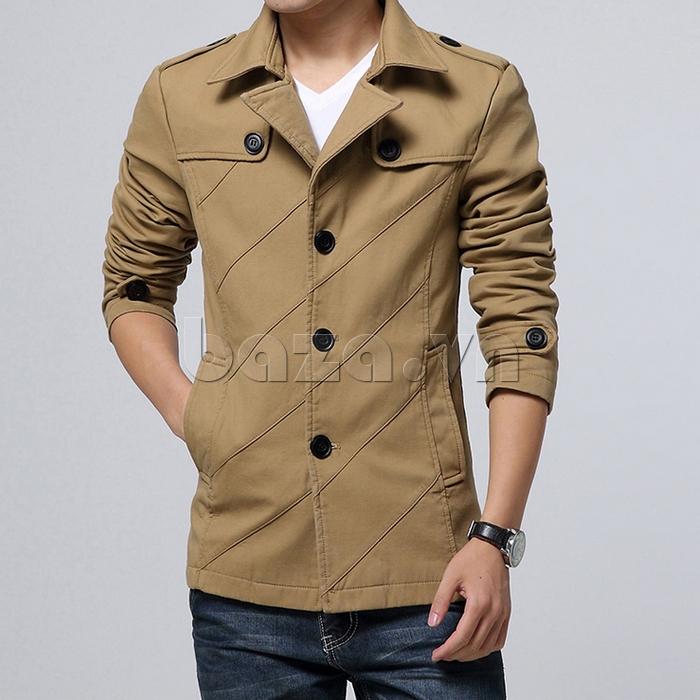 Áo khoác nam phong cách Hàn Quốc CTHAPINE 3562169