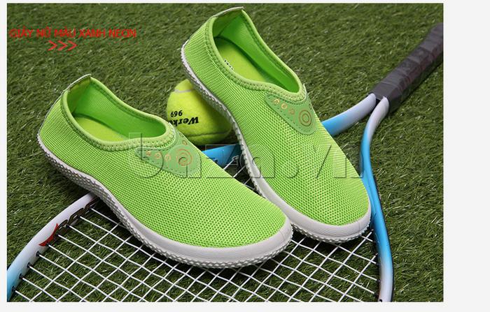Giày lưới thể thao Wadnaso sắc màu cá tính