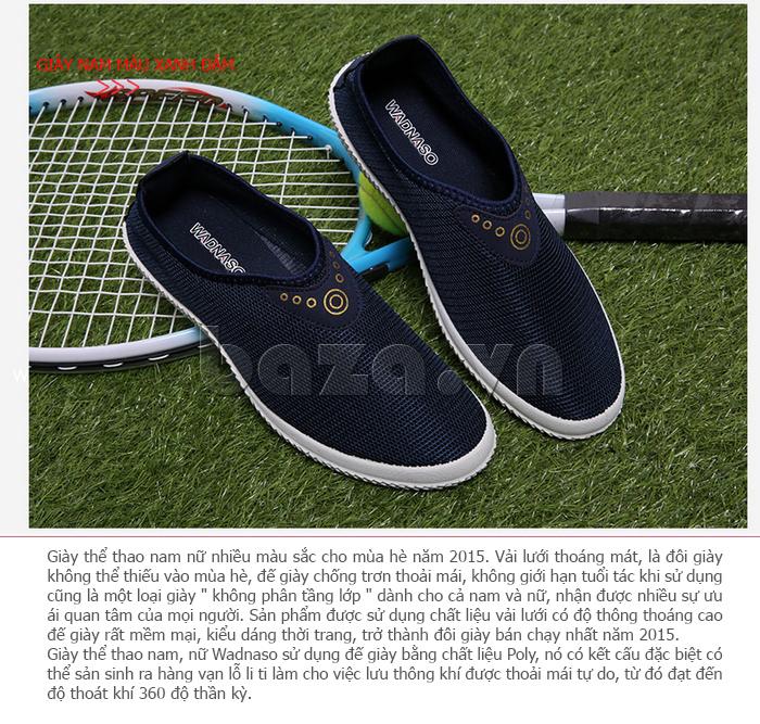 Giày lưới thể thao Wadnaso vải lưới thoáng khí