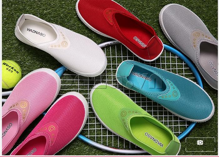 Giày lưới thể thao Wadnaso màu sắc đa dạng