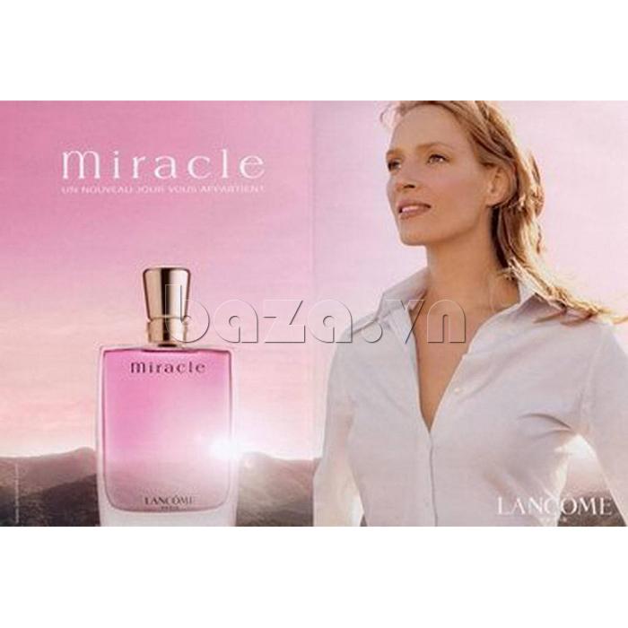 Nước hoa nữ Miracle for women Eau de parfum từ Lancome cho hương thơm quyến rũ, say mê
