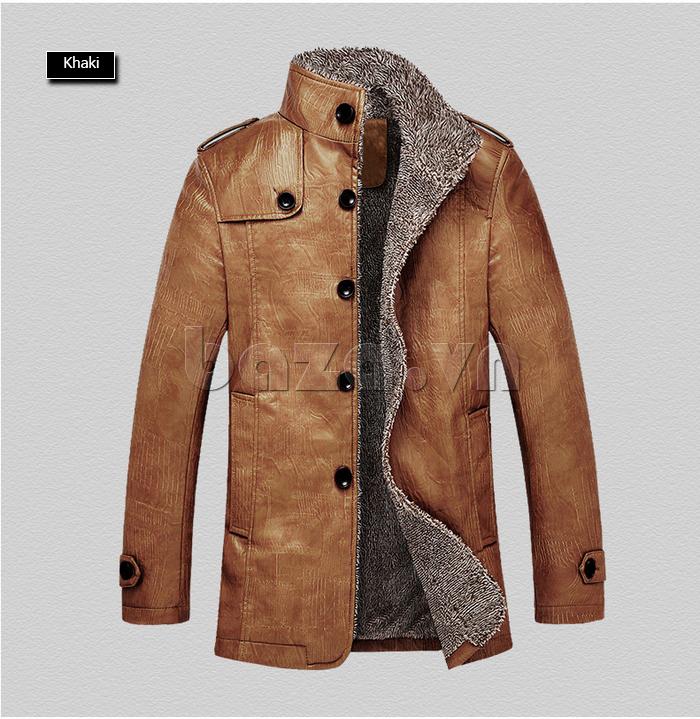 Áo khoác nam GF màu khaki