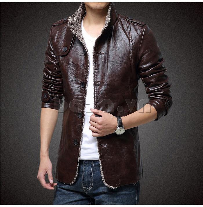 Áo jacket nam GF lịch lãm