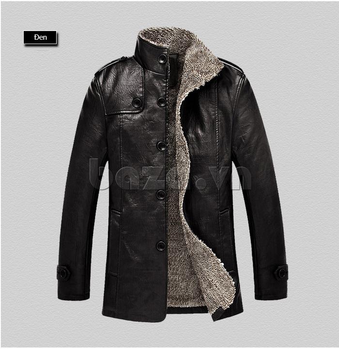 Áo khoác nam GF màu đen