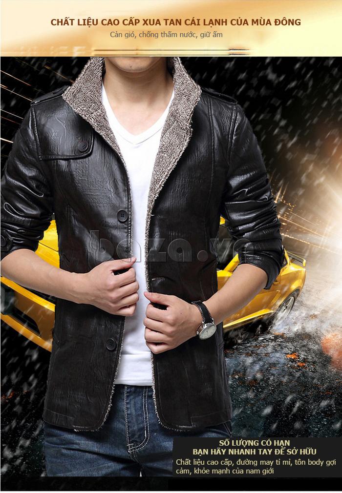 Áo jacket nam GF  thời trang