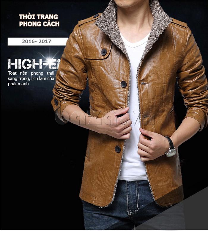 Áo jacket nam GF  phong cách