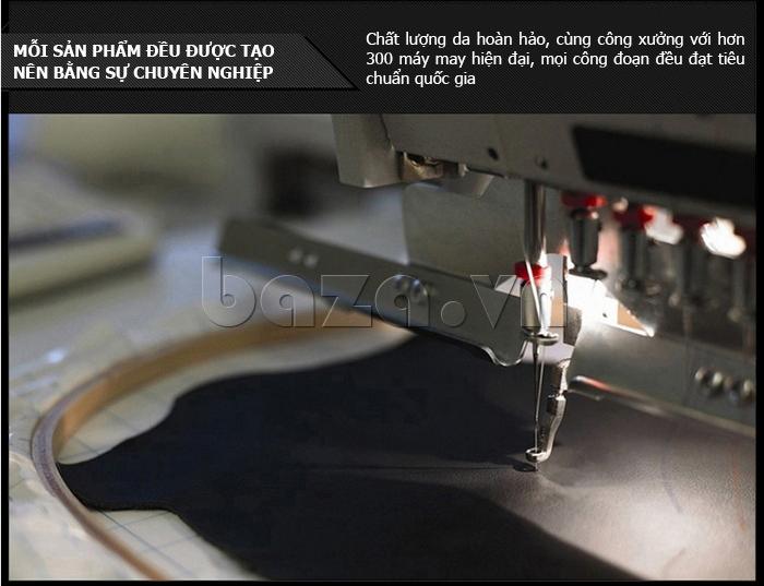 công nghệ may Áo jacket nam GF