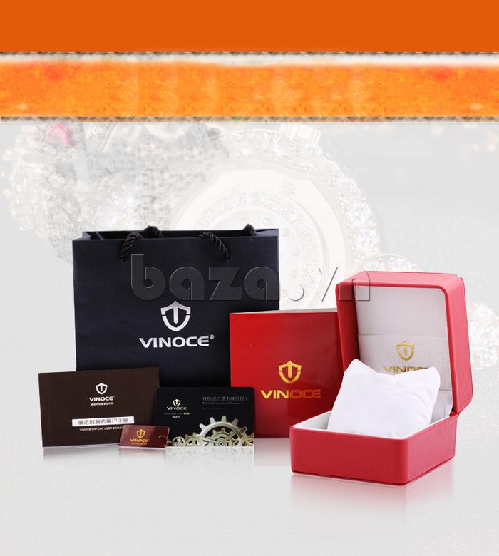 Đồng hồ nữ mặt trái tim Vinoce V633248G vẻ đẹp tinh tế và đẳng cấp