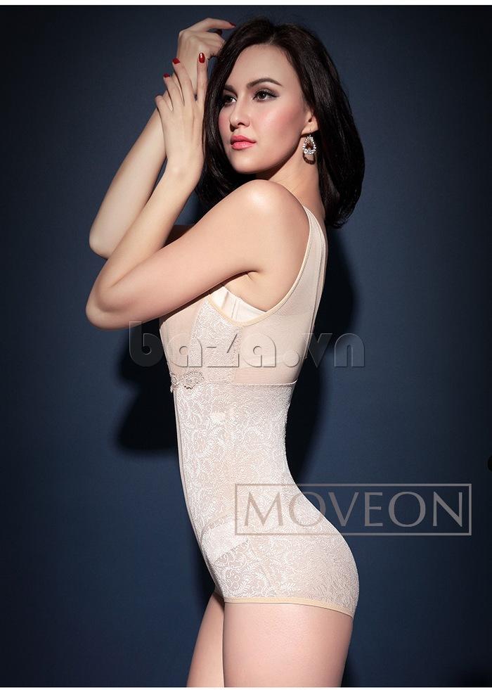 áo định hình liền thân nâng mông cho nữ Moveon MS2153