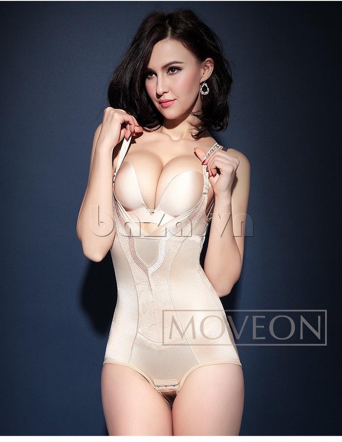 áo lót gợi cảm định hình liền thân cho nữ Moveon MS2153