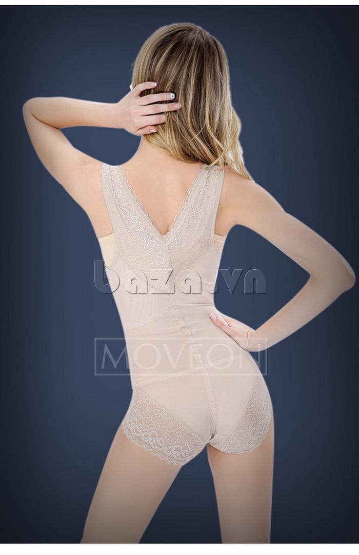áo lót nữ định hình liền thân siêu nhẹ Moveon MS3659