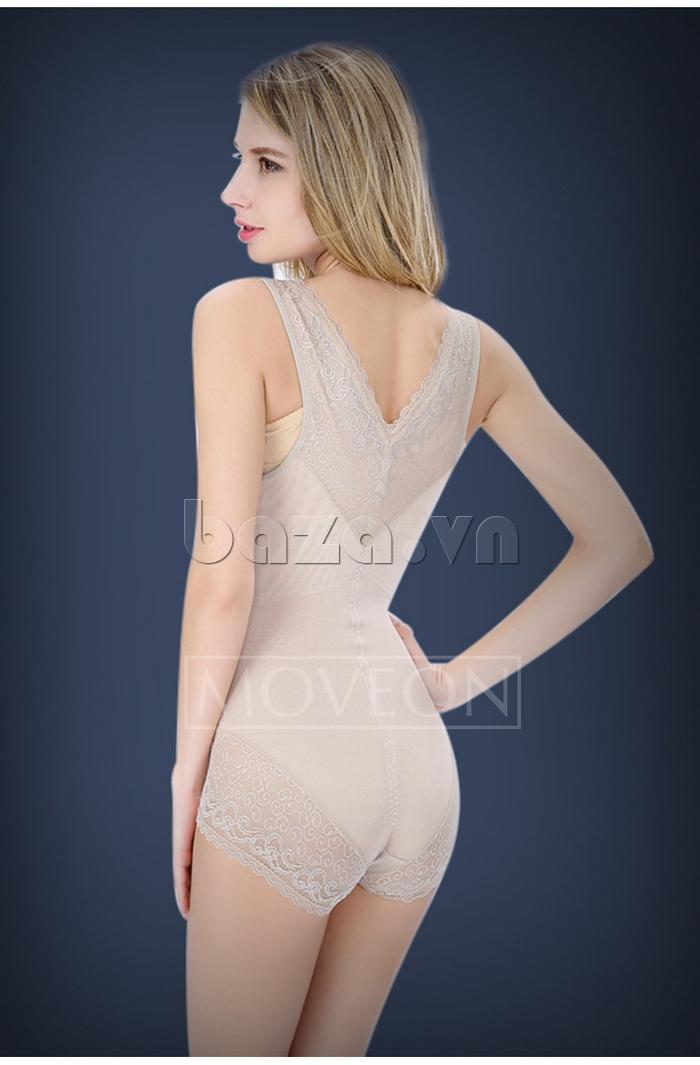áo lót nữ định hình liền thân siêu mỏng Moveon MS3659