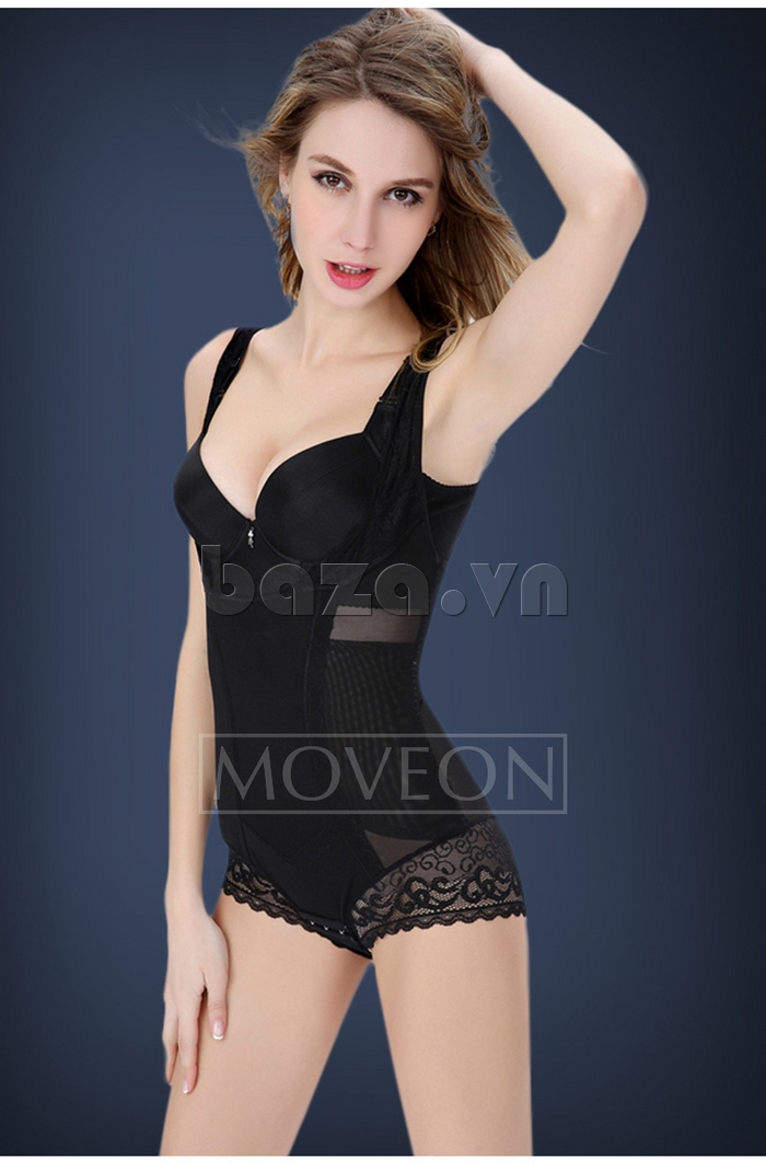 áo lót nữ định hình liền thân siêu sexy Moveon MS3659