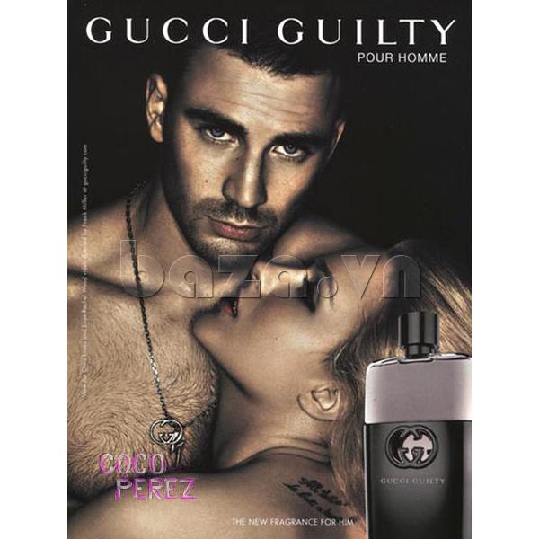 Nước hoa nam Gucci By Gucci Pour Homme 50ml  thể hiện sức hấp dẫn của phái mạnh