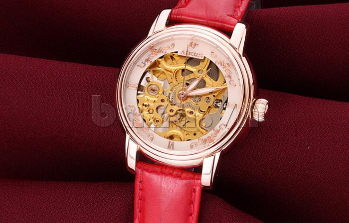 Đồng hồ cơ nữ Aiers B202L sang trọng vô cùng\