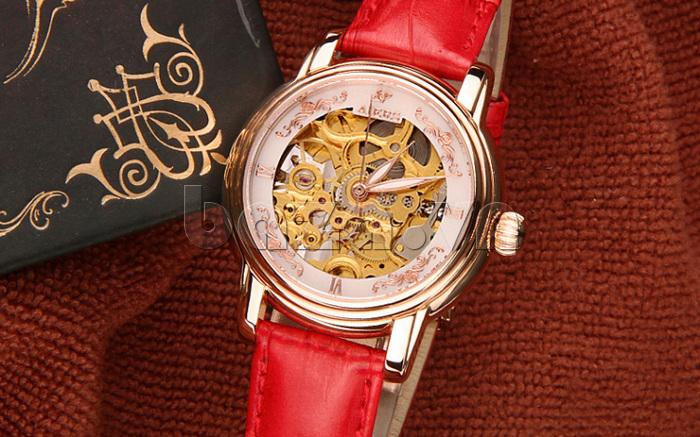 Đồng hồ cơ nữ Aiers B202L kiểu dáng thời trang
