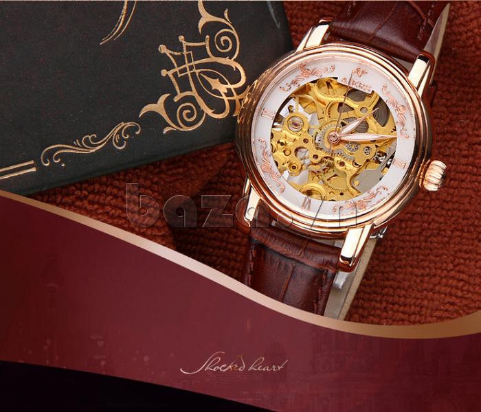 Đồng hồ doanh nhân nữ Aiers B202L