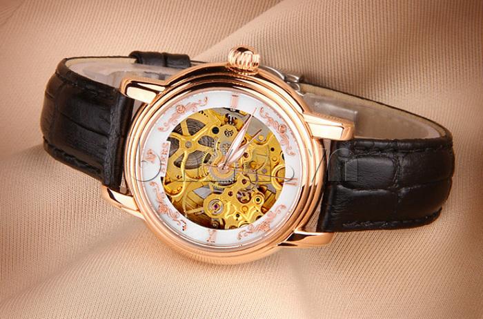 Đồng hồ cơ nữ  thời trang Aiers B202L