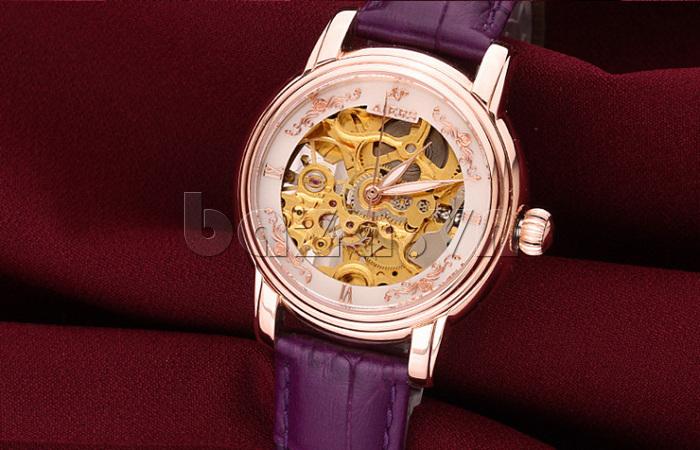 Đồng hồ cơ nữ Aiers B202L vẻ đẹp hoàn mỹ