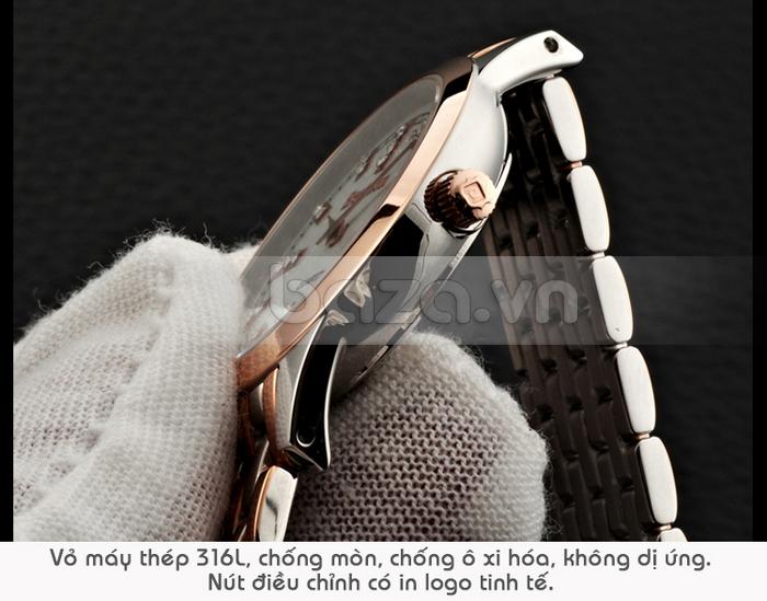 Thiết kế kiểu mới, mang vẻ đẹp tinh tế cho chiếc Đồng hồ nữ Bestdon