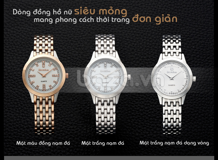 Đồng hồ nữ Bestdon cá tính cho bạn thêm rạng rỡ