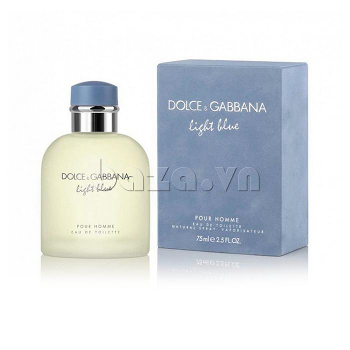 Nước hoa nam D&G Light Blue cho nam giới sức hấp dẫn thôi miên