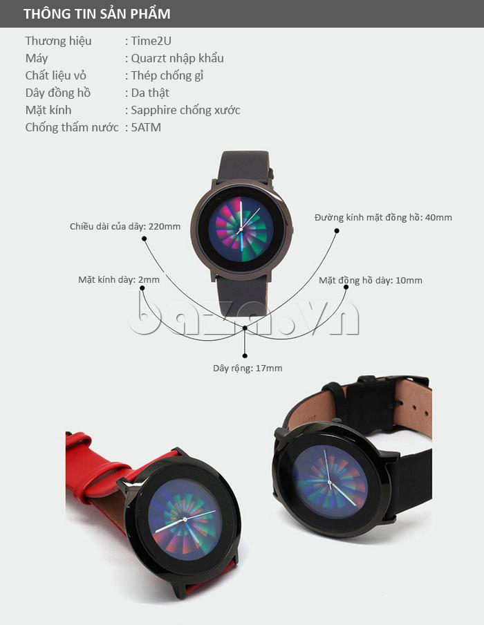 Đồng hồ thời trang Time2U 91-19049 - thông tin sản phẩm