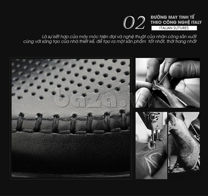 Giày nam Olunpo XCY1503 lạ