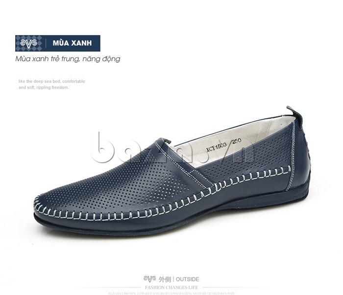 Giày nam Olunpo XCY1503 đường may tinh tế