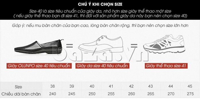 Giày nam Olunpo XCY1503 thiết kế bán chạy