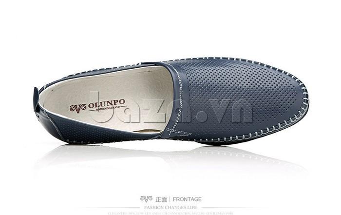 Giày nam Olunpo XCY1503 xanh nghệ thuật