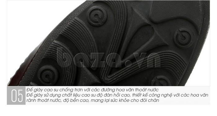 Thiết kế của Giày lười nam da thật đục lỗ Olunpo XHT1502