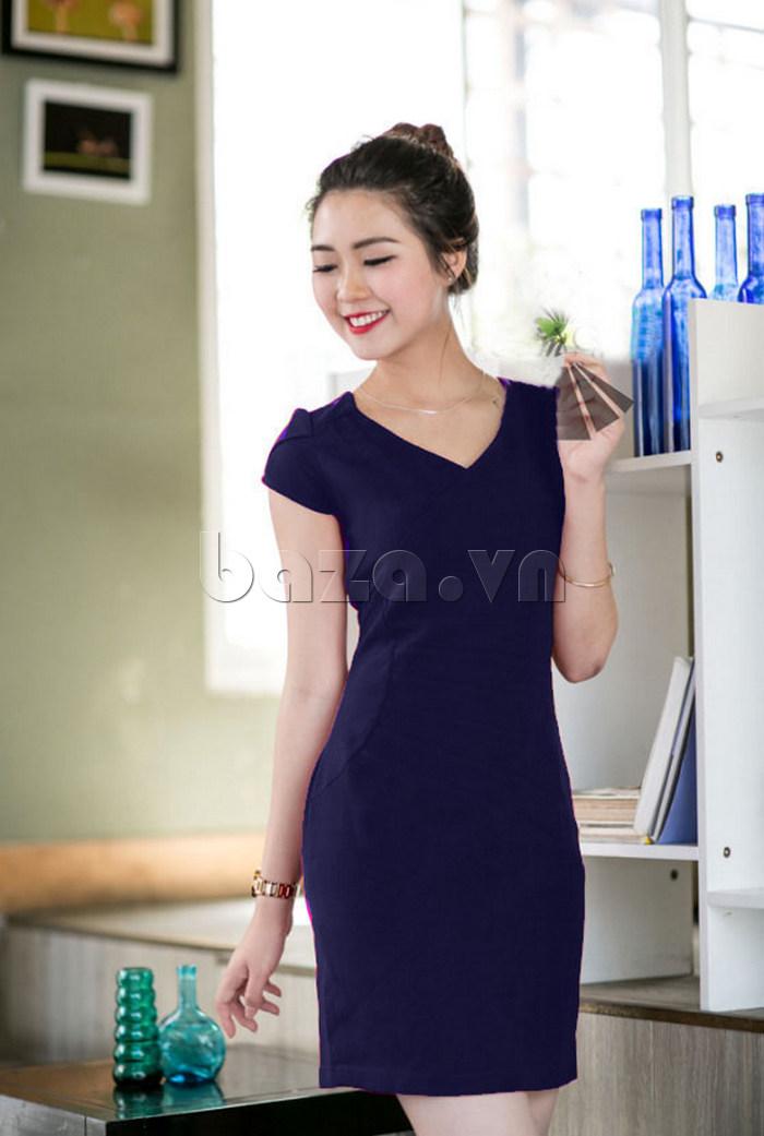 Váy Đầm Liền Công Sở Váy Đầm Liền Công Sở Trẻ Trung
