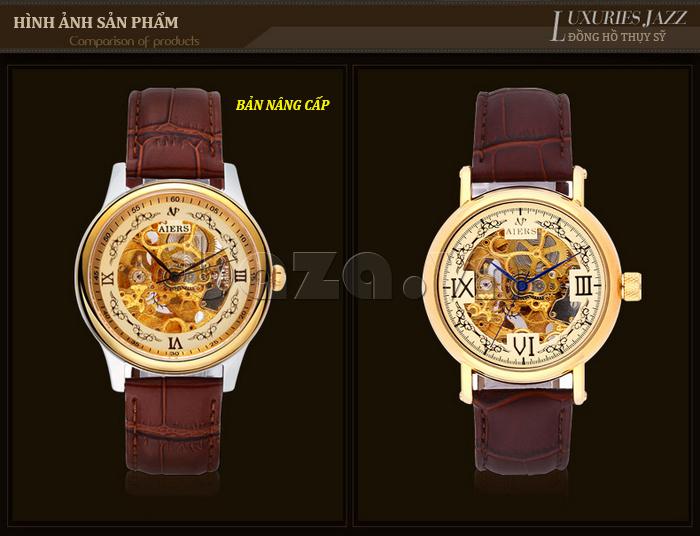đồng hồ cơ nam chính hãng Aiers phiên bản mới