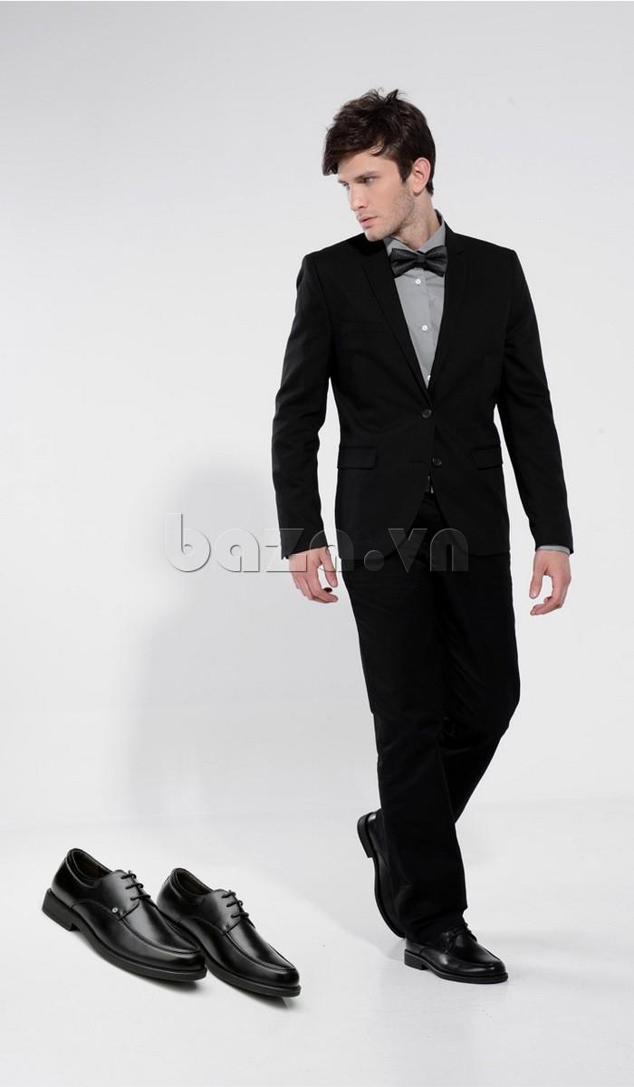 giầy da cao cấp OLUNPO QYS1201 thời trang mạnh mẽ