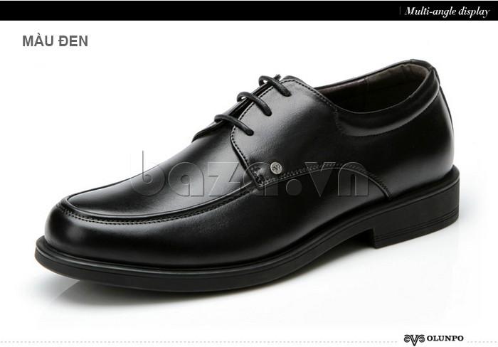 giầy da cao cấp OLUNPO QYS1201 khẳng định phong cách doanh nhân