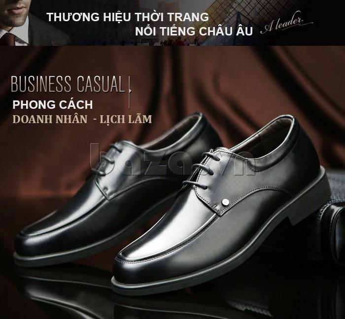 giầy da cao cấp OLUNPO QYS1201 doanh nhân lịch lãm