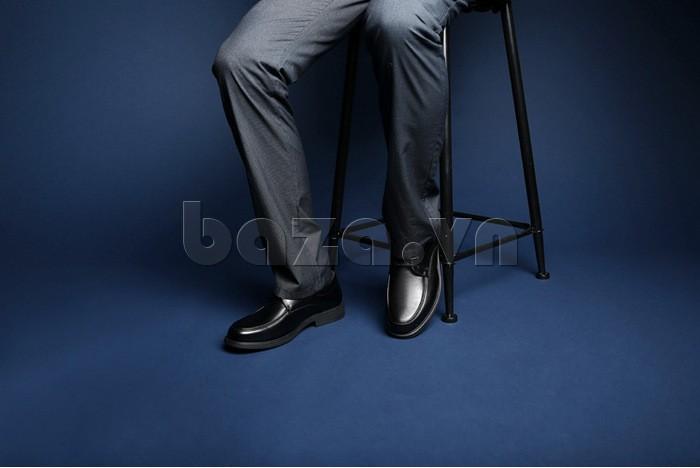 giầy da cao cấp OLUNPO QYS1201 tự tin và thoải mái