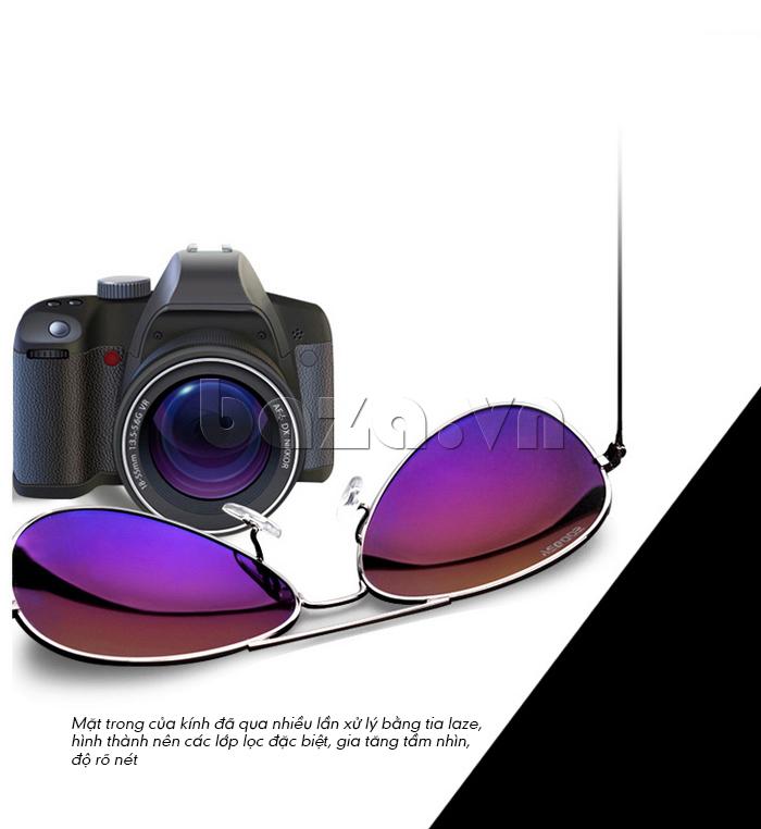 Kính Unisex Q&J 8808  - kính mắt phi công