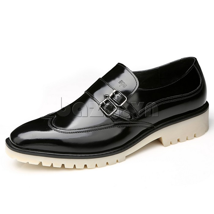 Giầy da nam thời trang Olunpo QEY1301 màu đen sang trọng cuốn hút