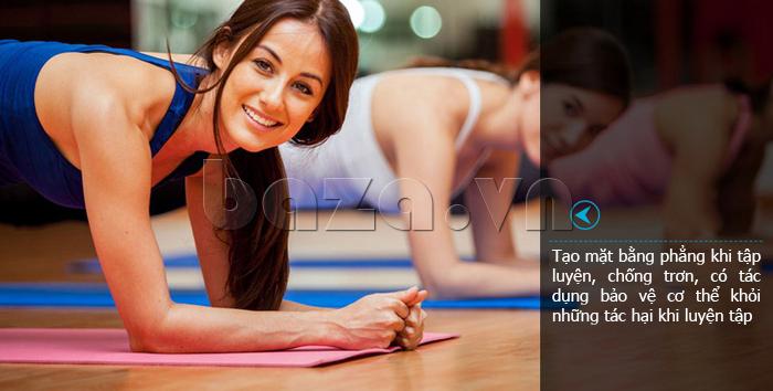 Thảm tập thể thao đa năng EG MK1812 hỗ trợ luyện tập