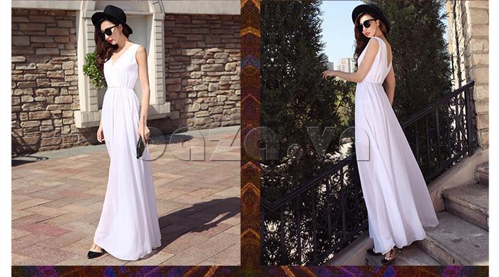Váy maxi nữ dáng dài Jiumeixuehu JMXHLYQ22 mềm mại